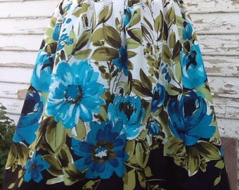 Novelty Print Gathered Skirts