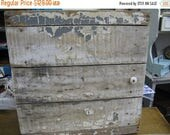 Antique Cabinet - Rustic Industrial Chic - Nordic French Cottage