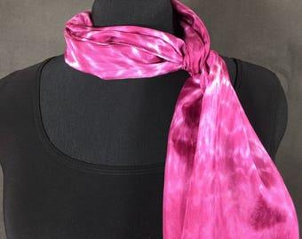 Fushisa 10 x 60 China Silk Shibori Scarf