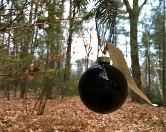 Scrying Witch Ball / Magickal Ornament