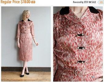 20% Off Sale // 1950s Suit // Silk Manford Classics Suit // vintage 50s suit