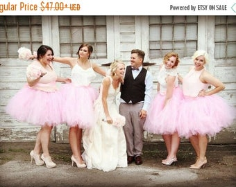 Summer sale Adult Tutu  - Pink Tutu  - Woman tutu -  Ladies Tutu  SEWN tutu Teen Tutu  tutu skirt - tulle skirt - bridal Skirt - Bridesmaid