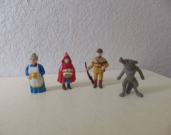 HG Toy Co. Stroybook Characters, Little Red Riding Hood, 1988.