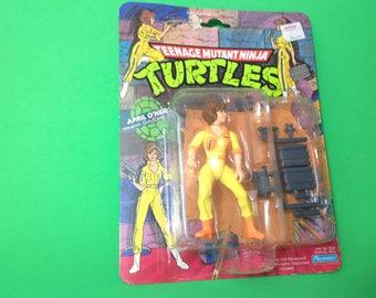 Original April O'Neil action figure 1988 mirage studios