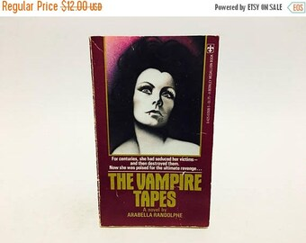 SUMMER BLOWOUT Vintage Horror Book The Vampire Tapes 1977 First Edition Paperback
