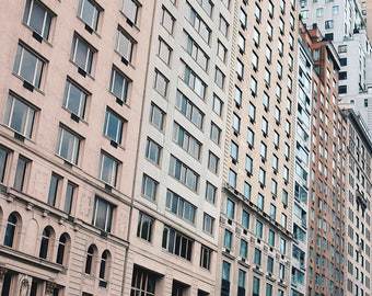Shapes of New York City - Fine Art Photograph, NYC, Wall Art Print, Room Decor, Travel Photography, Buildings, Architecture, Urban