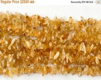 ON SALE 55% Citrine Horn Chips, Orange Citrine Gemstone Beads, Natural Citrine Chips, Citrine Necklace, 5-15mm, 32 Inch - RAMA200