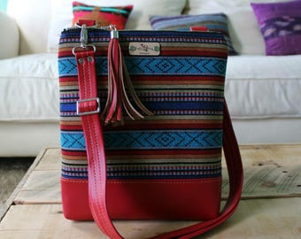 La Natalia bag - crossbody bag - summer bag - travel bag - cross body purse - adjustable strap