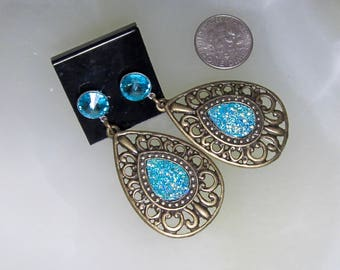Hypoallergenic Turquoise Earrings