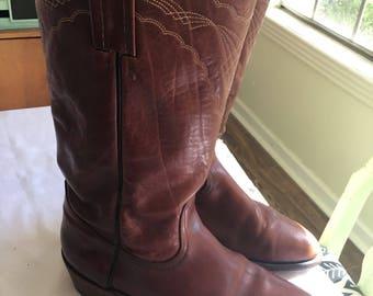 Frye cowboy boots size 11