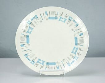 Vintage Blue Heaven by Royal China, Dinner Plate