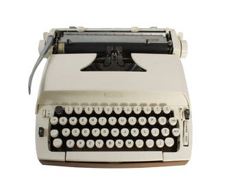 Refreshed Sears Citation - Smith Corona Typewriter -  Portable - Manual - New Ribbon Installed - Excellent Working Condition