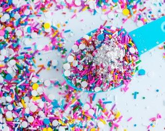 BIRTHDAY PARTY Sprinkle Medley, Vegan, Gluten-Free, Kosher, Sweetapolita