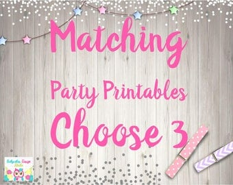 ADD 3 Printables Please READ BEFORE Purchasing