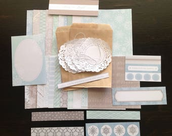 Winter Wonderland Paper kit