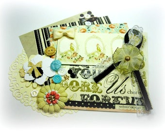 Webster's Pages In Love Embellishment Kit, Inspiration Kit, Ephemera Kit for Scrapbook Layouts Cards Mini Albums and Paper crafts 2
