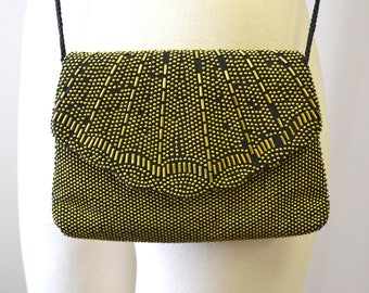 1980s Gold Studded Small Purse