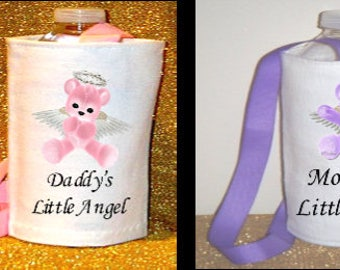 Daddy's Little Angel or Mommy's Little Angel Water Caddy