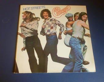 Chicago Hot Streets Vinyl Record LP FC 35512 Columbia Records 1978