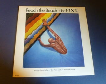 The FIXX Reach The Beach Vinyl Record Lp  MCA-5419 MCA Records 1983