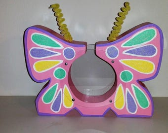 Example of Handmade Butterfly Bank