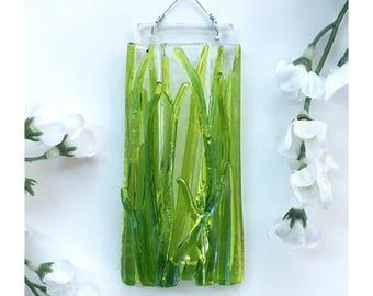 Mini Fused Glass Wall Vase