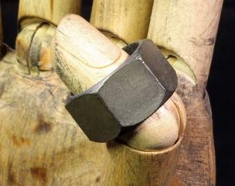 9 3/4 -- Steel nut ring --  i11918