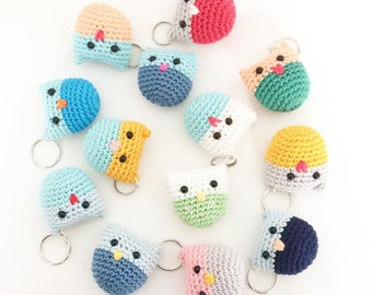 Owl Keychain - Choose your color