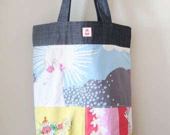 25% OFF Moomin and Denim Fabric Tote