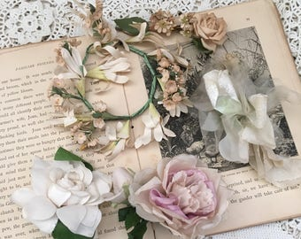 5 Pieces Of Vintage Millinery Flowers That Have Spring Written All Over Them