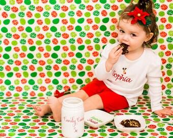 Cookies for Santa Plate | Dish | Cookies for Santa | Handmade Ceramics from my Charleston, SC Studio