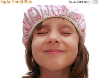 40% OFF NOW Rare VTG Child Size Pink Shower Cap, Baby Shower Cap, Toddler Shower Cap, Preschooler Shower Cap, Vintage Shower Cap for Kids