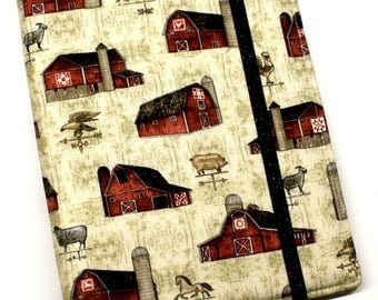 Farmhouse Barns WIP Tracker Cover and Binder