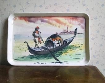Vintage Italian Ceramic Tray