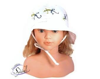 kid and baby summer hat, travel hat, beach hat, white summer kid hat, travel hat, baby summer hat, kids summer hat