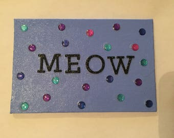 Meow Canvas