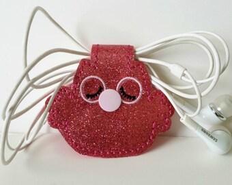 Earbuds case included - earphone keychain case