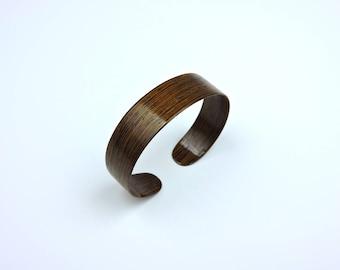Wenge Wood Veneer Bracelet