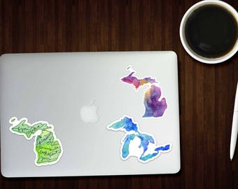 Custom Sticker Order - Reserved Listing - Michigan Stickers - Great Lakes Stickers - Michigan Decal - Michigan Gift - The Big Lake