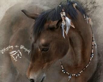CUSTOM ORDER-Jamie Piotrowski,Rhythm Beads Necklace, Speed Beads, Horse Necklace, Western Riding, Horse Lovers, Horse Beads,