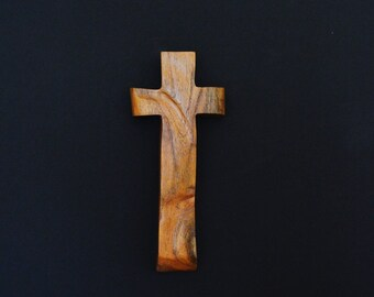 "Wood Cross; Christian Gift; Home Decor; Wood Gifts; Wedding Gift; Sympathy Gift; Mesquite;4""x9""x1""; Free Ground Shipping USA; cc20-3031518"