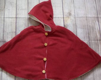 Pixie cape-- size 3-5 year