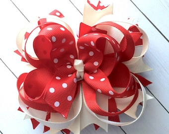 M2M Made to Match Eleanor Rose Woodland Wonderland girls boutique style hair bow