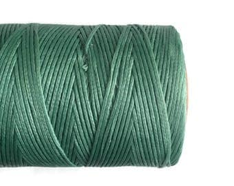1mm Turquoise Waxed Polyester Cord 10m - 11yards S 40 222