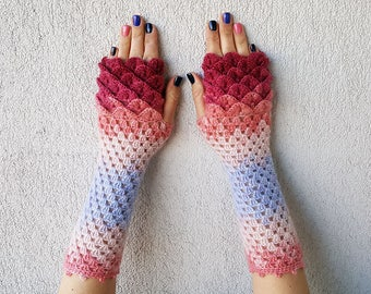 Fingerless Gloves Handmade Wrist Warmers Arm Warmers Mitts Ladies fingerless gloves lacy long mittens womens fingerless