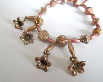 Steampunk elastic bracelet