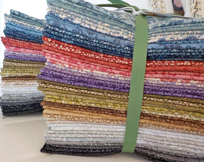 Puzzle Pieces by Moda Fabrics...fat 8th bundle...60 prints