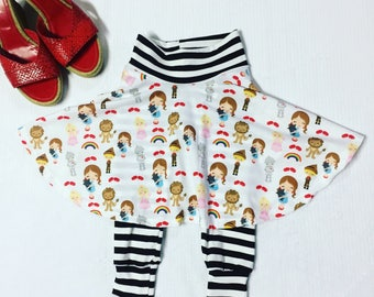 Oz Skirted Leggings Custom Size Infant Girl LIMITED