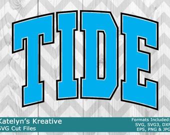 Tide Arched SVG Files