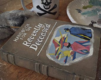"Beetlejuice ""Handbook For The Recently Deceased"" Box (Made to Order)"